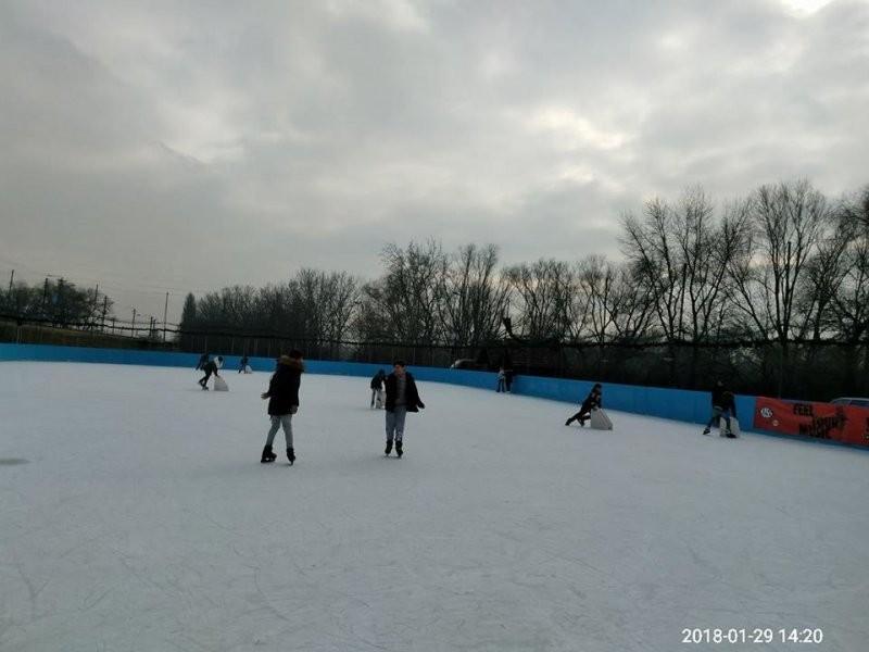 Activitate la patinoar